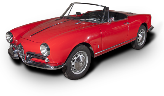 alfa romeo giulietta spider verhuur en restauratie van. Black Bedroom Furniture Sets. Home Design Ideas